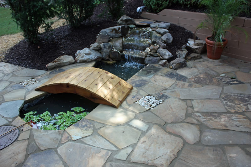 atlanta landscaping bridge design