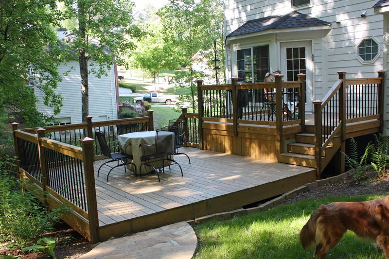 oakhurst deck design