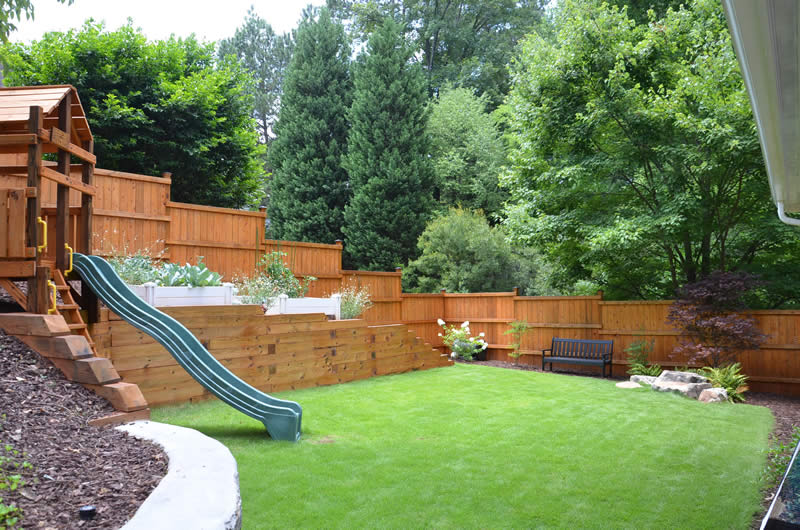 oakhurst landscaping fences