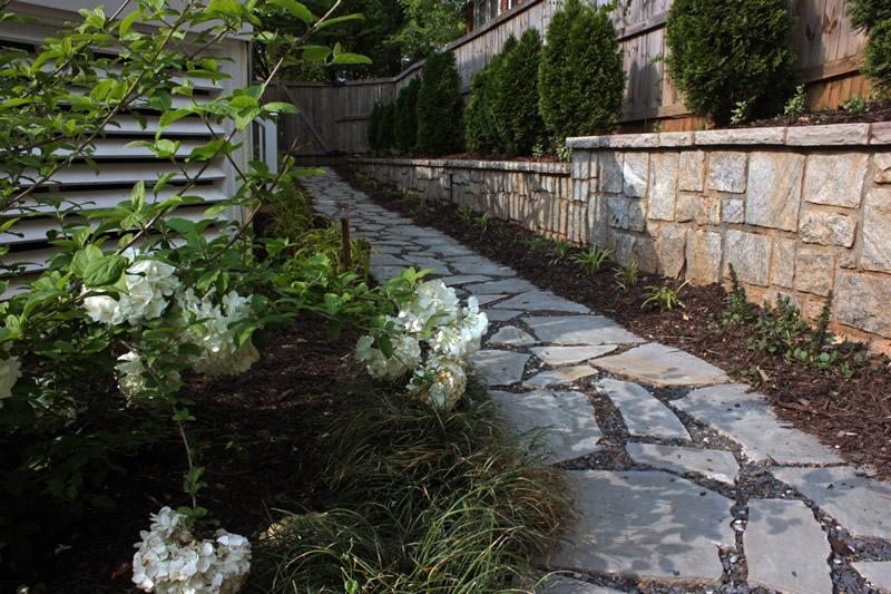landscape drainage walkways