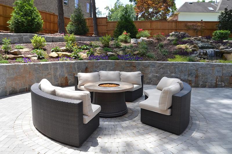 atlanta outdoor fireplaces