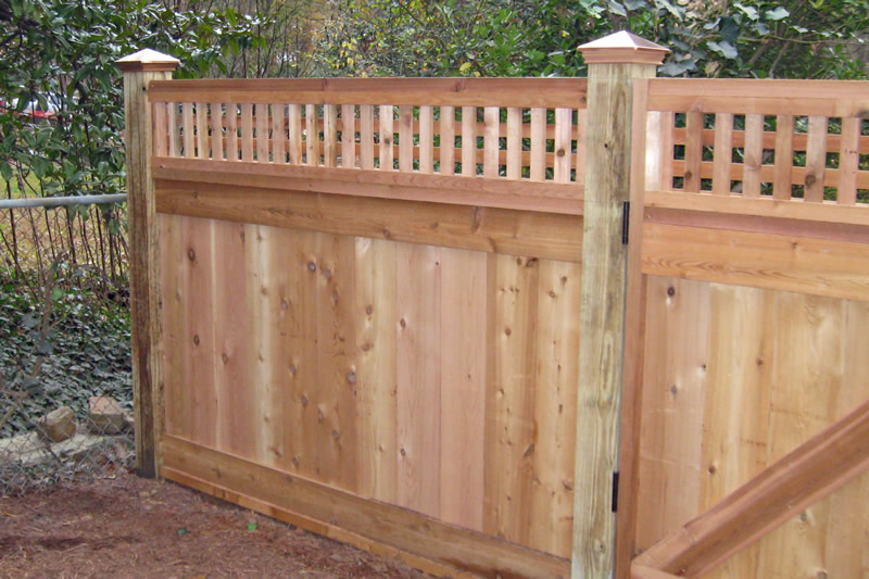 decatur landscaping fence