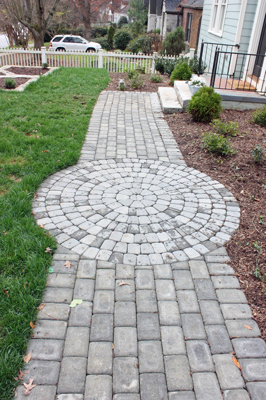 oakhurst walking path design picture