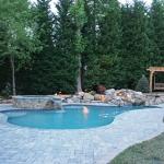 oakhurst backyard pool design