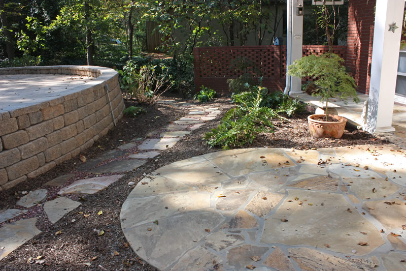 Landscape Drainage Walkways | Shady Grove Landscape Company