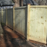 wood fences and screens