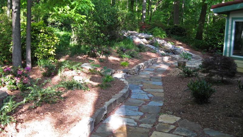 landscape drainage system