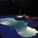 atlanta landscape lighting design for pools