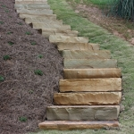 oakhurst landscaping steps and stairs
