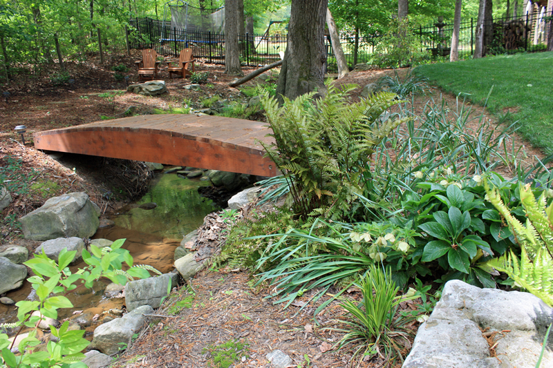 decatur landscaping bridge