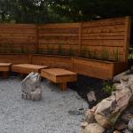 yard landscaping fence