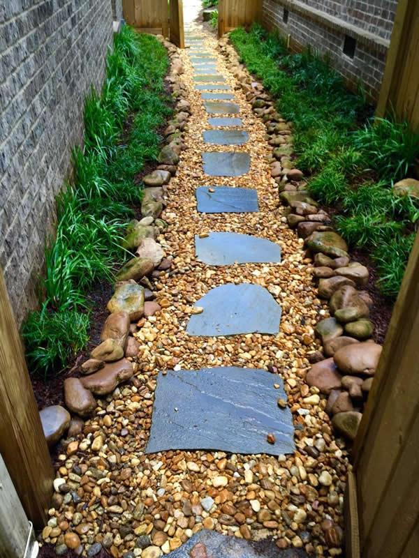 decatur landscape drainage walkway