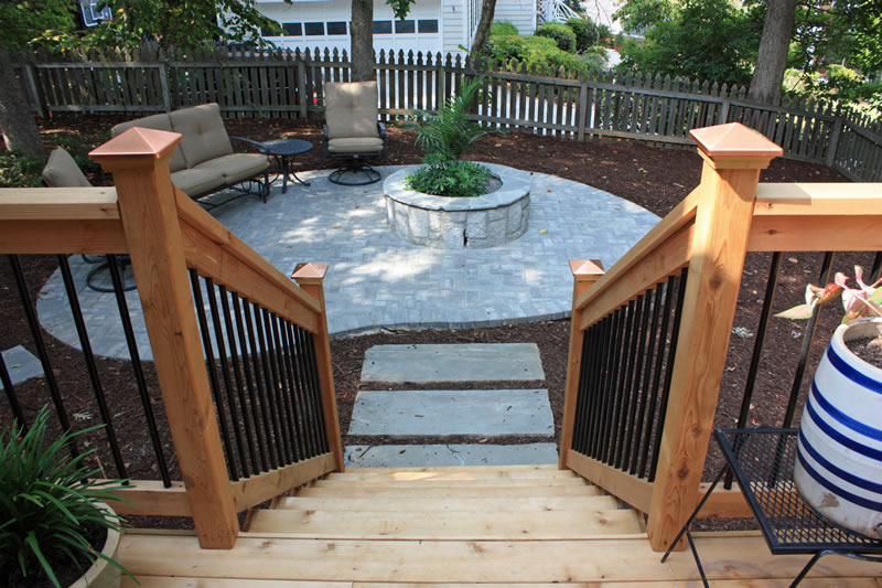 decatur landscaping steps and stairs