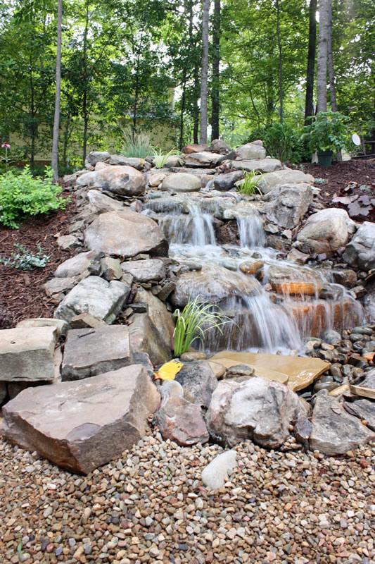 oakhurst pondless waterfall design