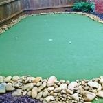 oakhurst artificial turf installation