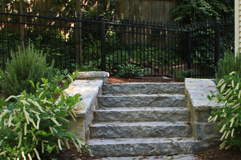 Local Landscaping Steps And Stairs