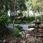 oakhurst water features and dripping rocks