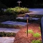 atlanta landscape lighting design for walkways