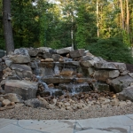 local pondless waterfall design