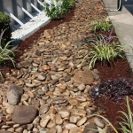 drainage walkway landscaping