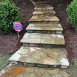 atlanta landscaping steps builder