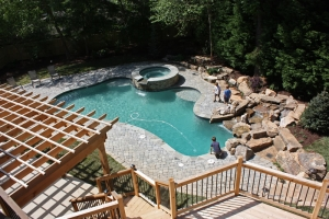atlanta landscaping services and pool design