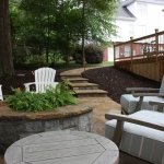 outdoor fireplace examples