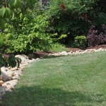 decatur drainage walkway landscaping