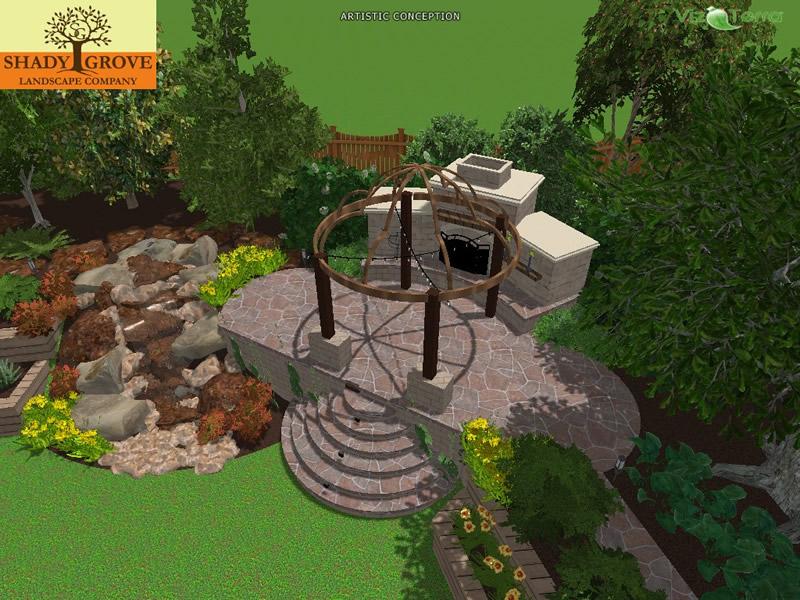 installation 3d landscape design