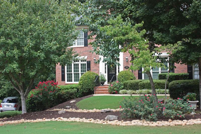 oakhurst drainage walkway landscaping