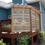 backyard landscaping screen