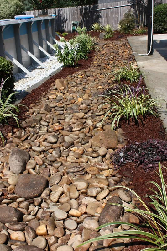 Dry Creek Bed Landscaping | Shady Grove Landscape Company