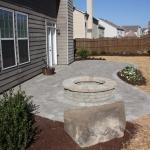 oakhurst outdoor fireplace design