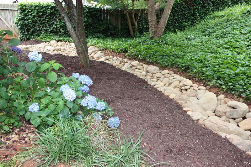 atlanta drainage walkway landscaping