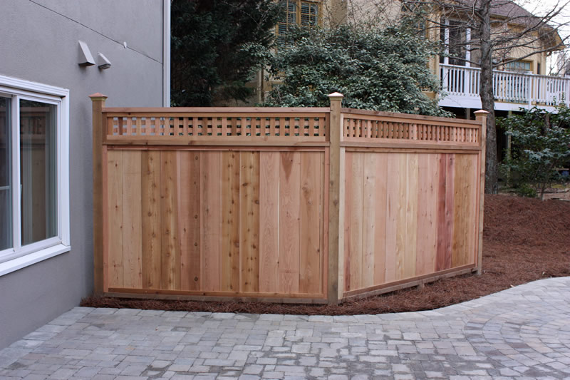 atlanta landscaping fence