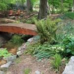 wood landscaping walkways