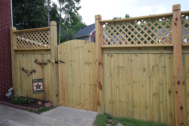 atlanta landscaping fences