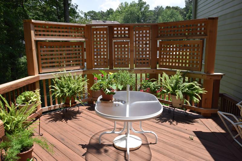 decatur landscaping fences
