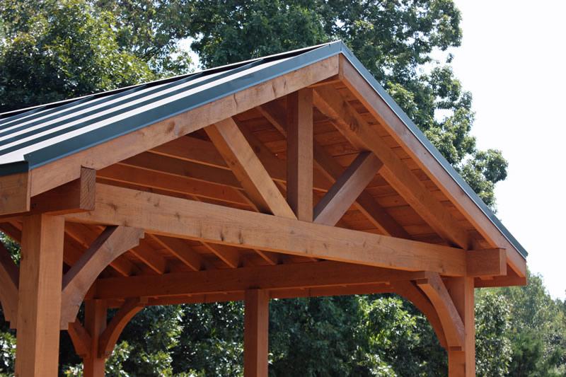wooden pergola design