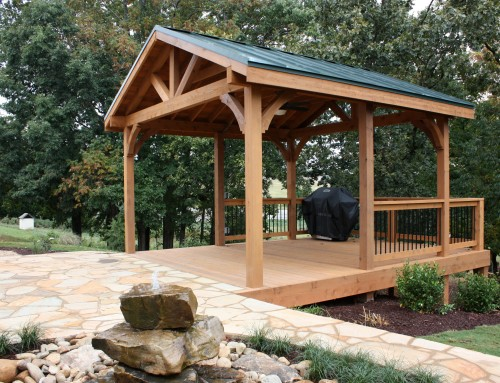 Stay Cool In the Summer with a Custom Built Pergola